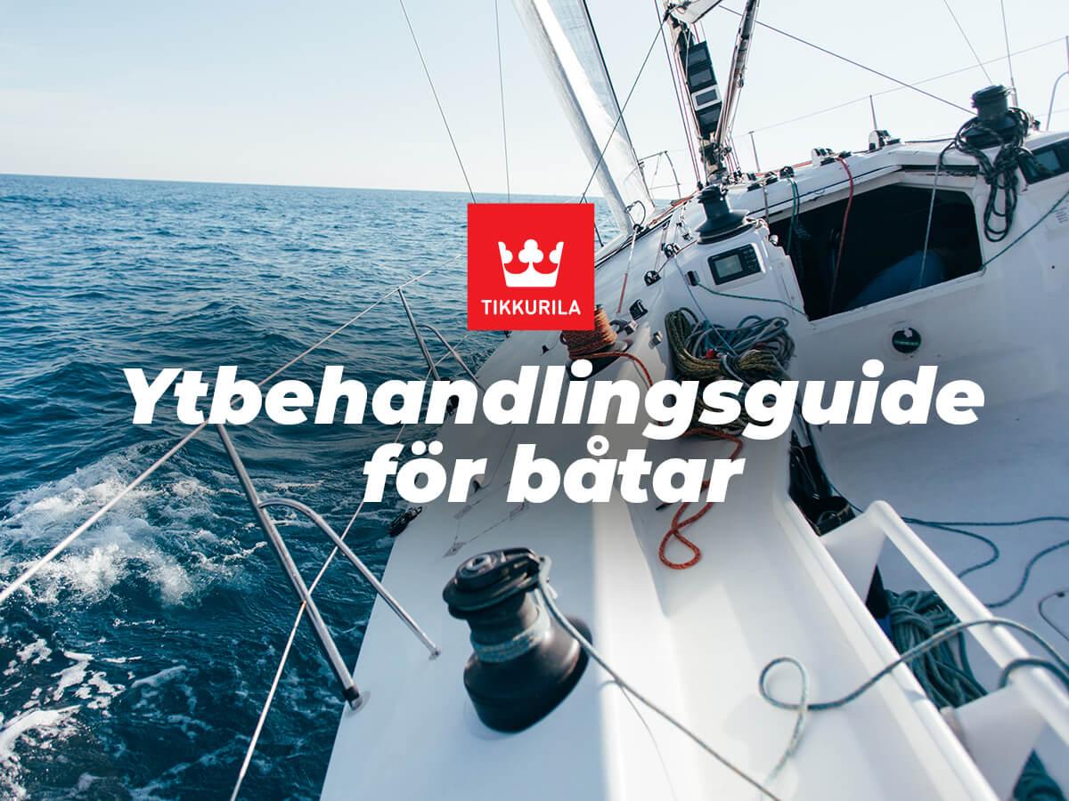 Ytbehandling för båtar